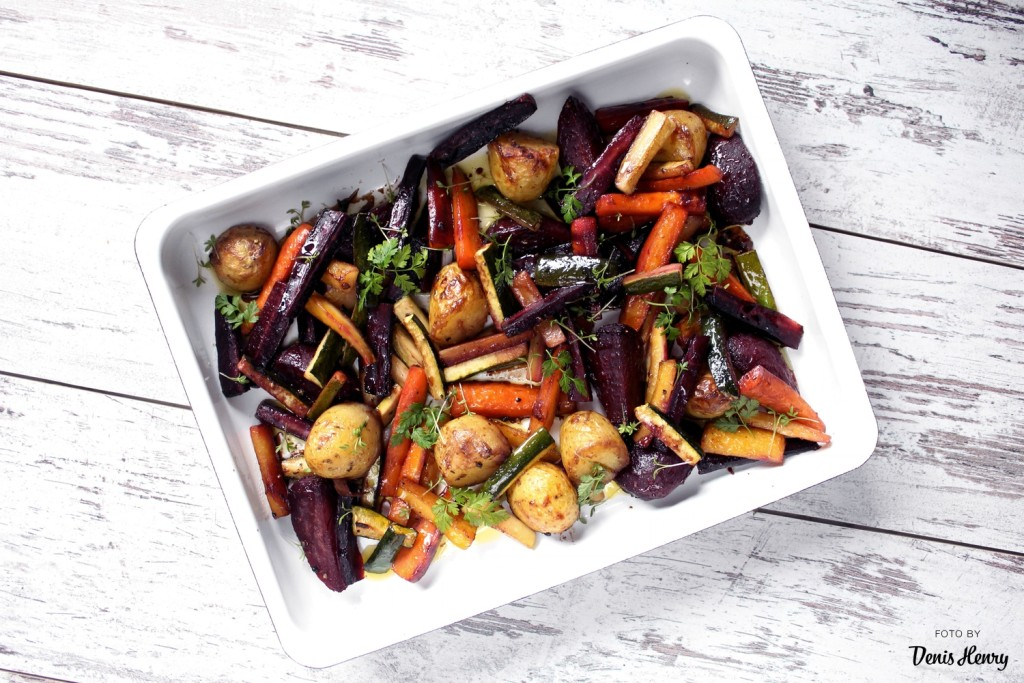 Karamelizovaná zelenina s balzamikem